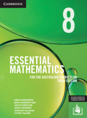 Essential Mathematics for the Australian Curriculum Year 8 3rd Ed 9781108772815