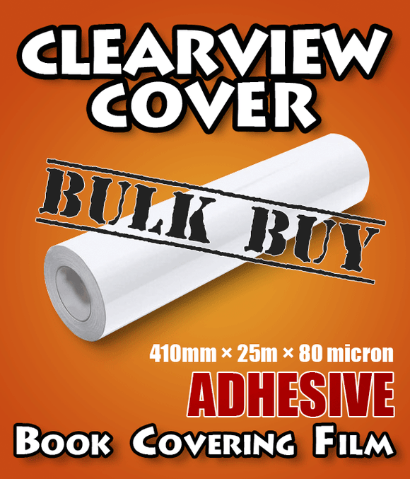 Clearview Cover Adhesive Book Covering Contact 6-pack