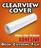 Clearview Cover Adhesive Book Covering Contact