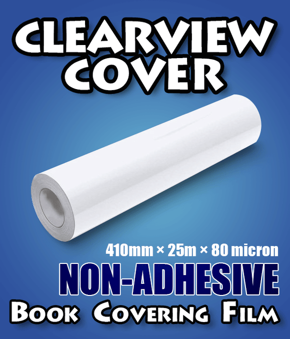 Clearview Cover Non-adhesive Book Covering Plastic