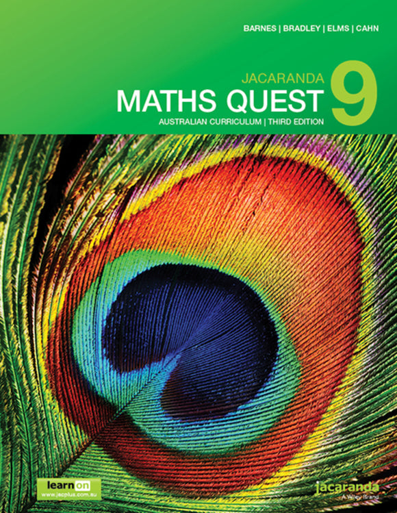 Jacaranda Maths Quest 9 for the AC 3rd Ed LearnON & Print 9780730346326