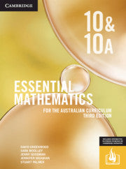 Essential Mathematics for the Australian Curriculum Year 10 3rd Ed 9781108773461