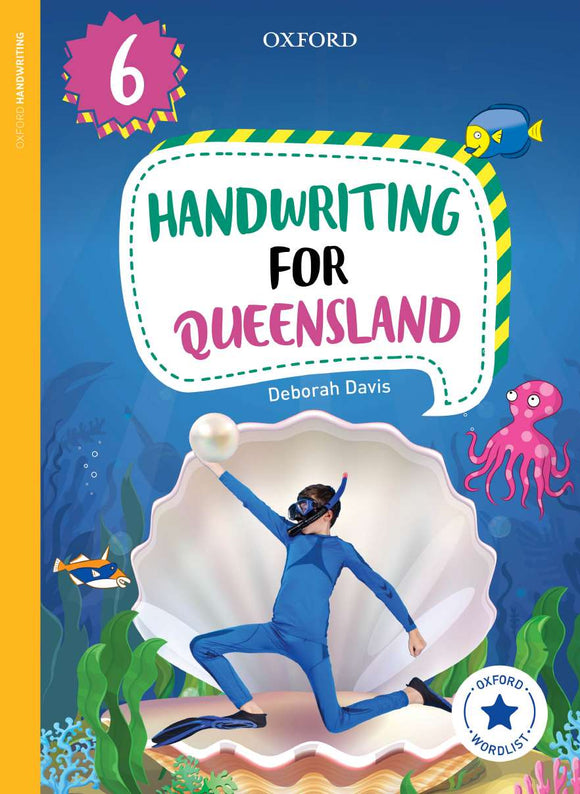Oxford Handwriting for Queensland Year 6 9780190320270