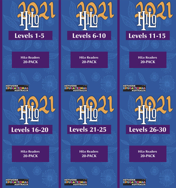 Hi-Lo Readers Levels 01-30 Mega Pack
