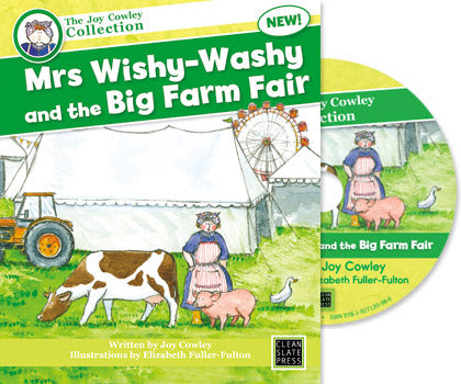 Mrs Wishy-Washy and the Big Farm Fair (Digital Book) Win/Mac 9781927130988