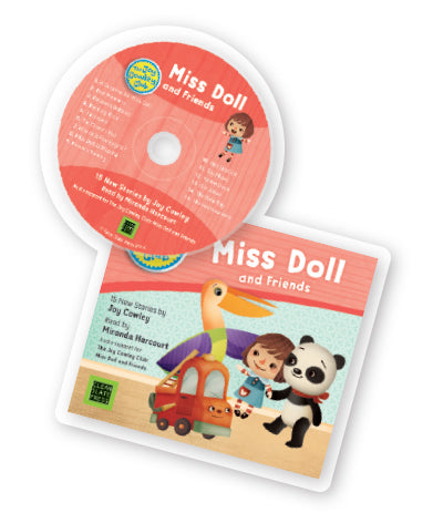 The Joy Cowley Club Miss Doll and Friends Set Audio CD 9781927186992