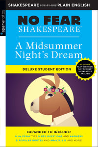 Midsummer Night's Dream (No Fear Shakespeare Deluxe Student Edition) 9781411479692