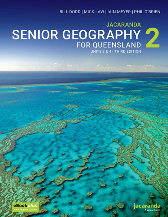 Senior Geography for Queensland Book 2 Units 3&4 3rd Ed eBookPLUS + Print 9780730369042