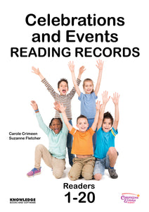 Celebrations and Events Set 1 Reading Records