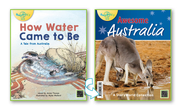 How Water Came to Be/Awesome Australia (Australia) Big Book 9780947526368