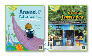 Anansi and the Pot of Wisdom/Jammin' in Jamaica (Jamaica) Small Book 9780947526238
