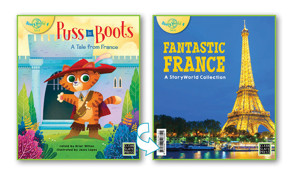Puss in Boots/Fantastic France (France) Small Book 9780947526894