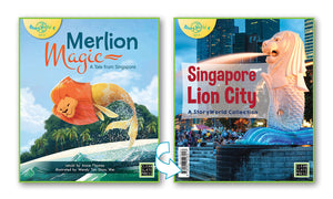 Merlion Magic/Singapore - Lion City (Singapore) Small Book 9780947526917