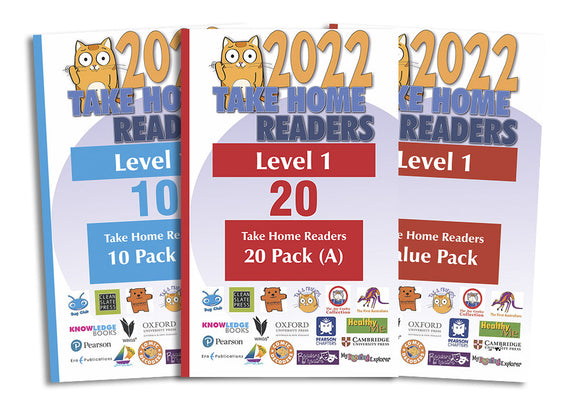 Take Home Readers Level 01 Pack