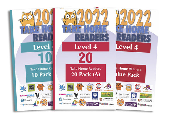 Take Home Readers Level 04 Pack