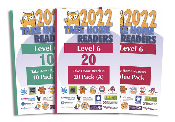 Take Home Readers Level 06 Pack