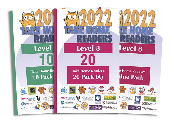 Take Home Readers Level 08 Pack