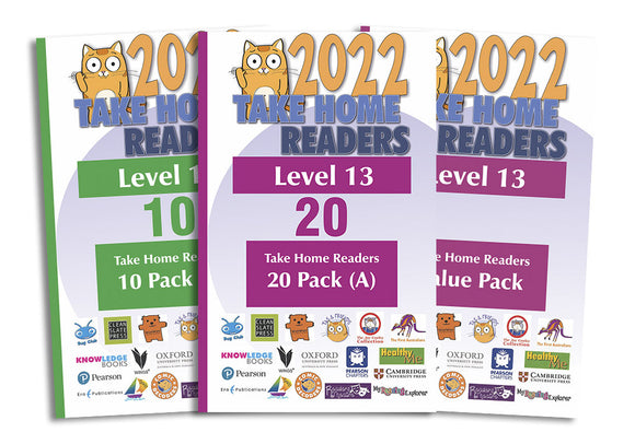 Take Home Readers Level 13 Pack