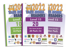 Take Home Readers Level 15 Pack