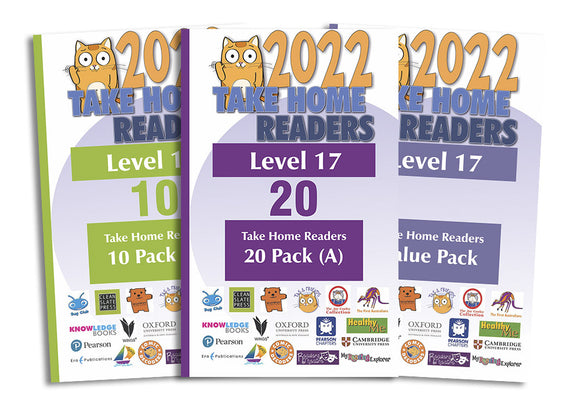 Take Home Readers Level 17 Pack
