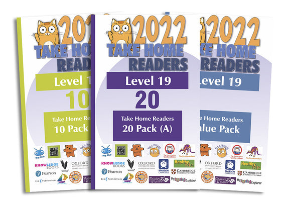 Take Home Readers Level 19 Pack
