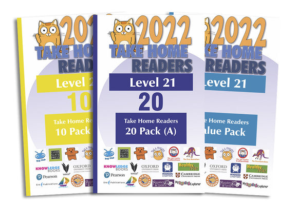 Take Home Readers Level 21 Pack