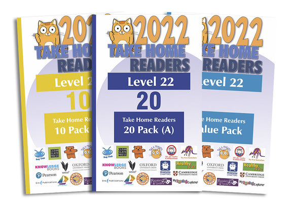 Take Home Readers Level 22 Pack