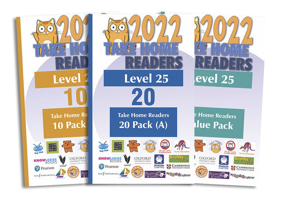 Take Home Readers Level 25 Pack