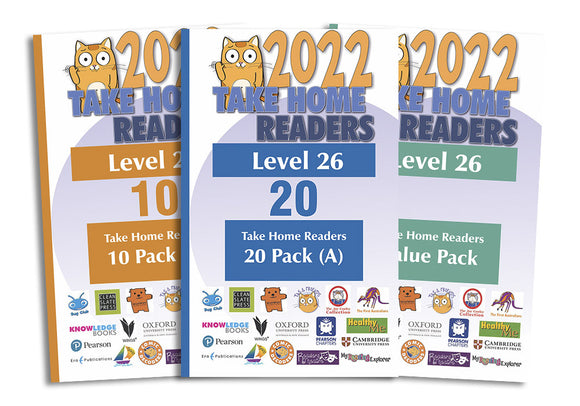 Take Home Readers Level 26 Pack