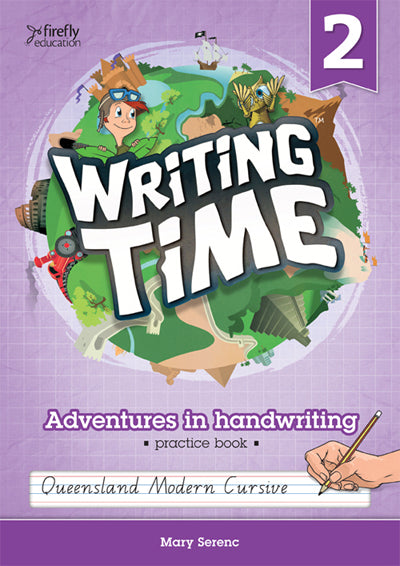 Writing Time 2 (Queensland Modern Cursive) 9781741352818
