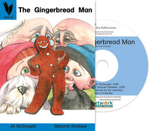 The Gingerbread Man (Digital Book) Win/Mac 9781741206302
