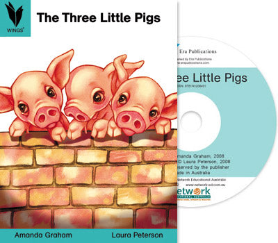 The Three Little Pigs (Digital Book) Win/Mac 9781741206401