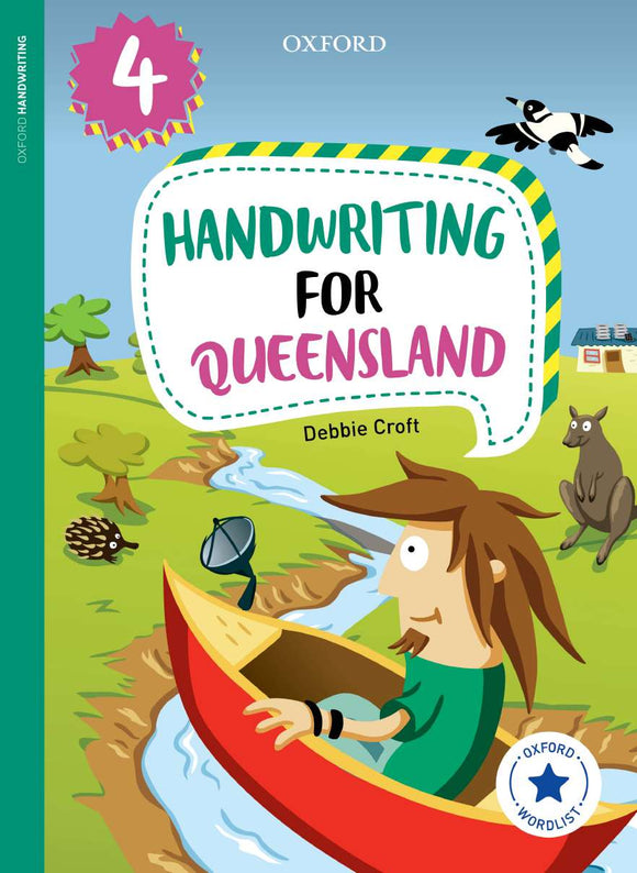 Oxford Handwriting for Queensland Year 4 9780190320256