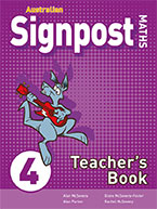 Australian Signpost Maths 4 Teacher's Book 9781488621888