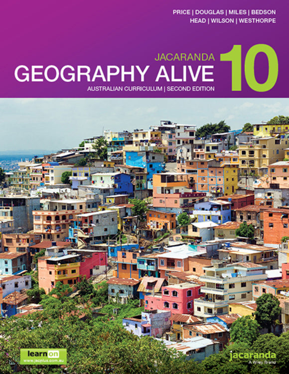 Jacaranda Geography Alive 10 for the AC 2nd Ed LearnON & Print 9780730347859