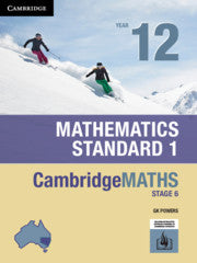 Cambridge Maths Stage 6 NSW Standard 1 Year 12 9781108448062