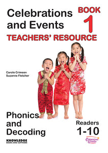 Celebrations and Events Set 1 Readers 1-10 Teacher Resource 9781922370488