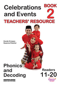 Celebrations and Events Set 1 Readers 11-20 Teacher Resource 9781922370495