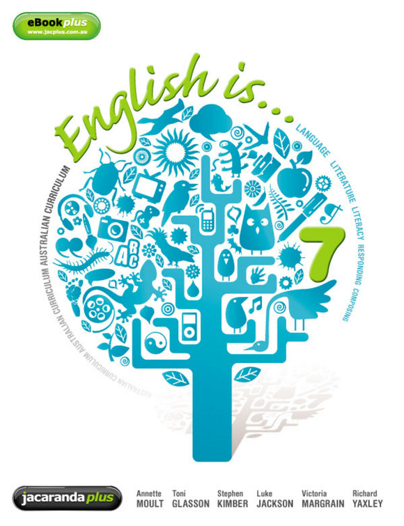 English is... English for the AC Year 7 & LearnON 9781742467702