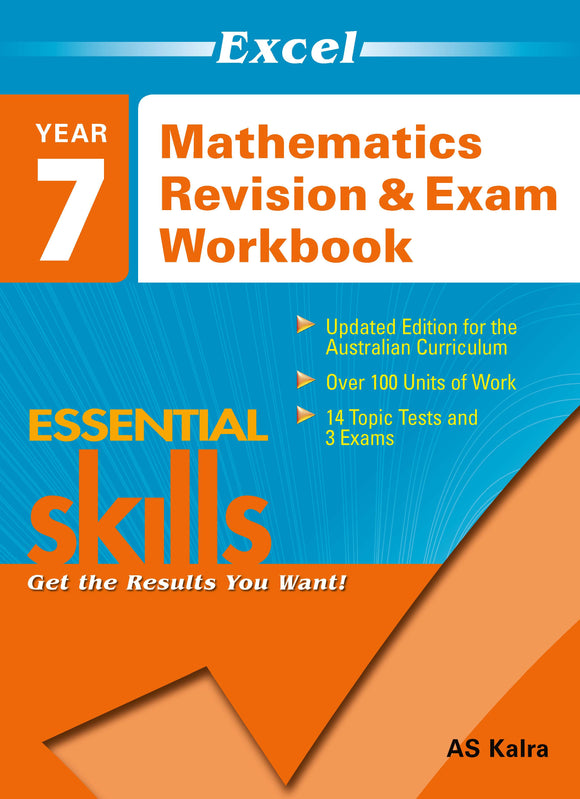 Mathematics Revision & Exam Workbook Year 7 9781741251517
