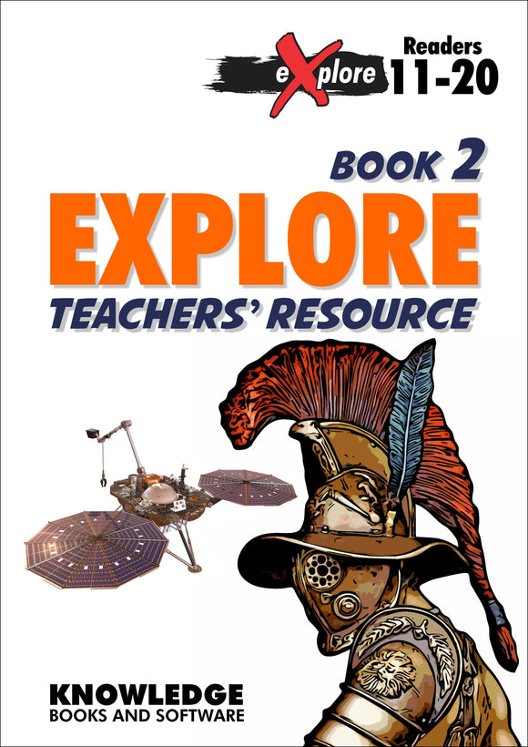 eXplore Set 1 Books 11-20 Teacher Resource 9781922370532
