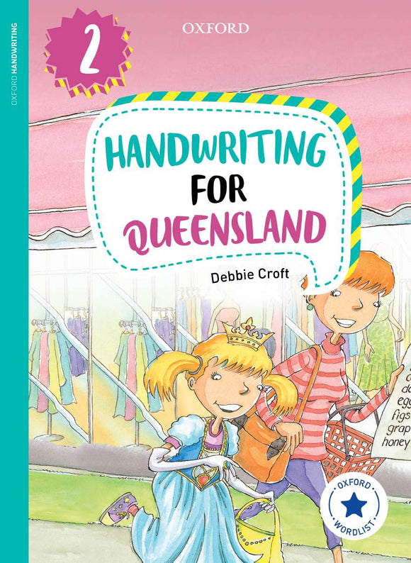 Oxford Handwriting for Queensland Year 2 9780190320232