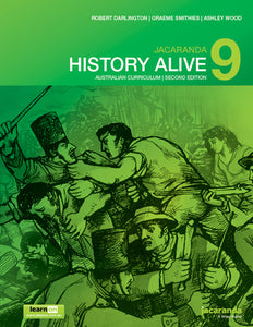 Jacaranda History Alive 9 for the AC 2nd Ed LearnON & Print 9780730346623
