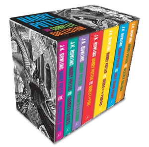 Harry Potter Boxed Set: The Complete Collection (Adult Paperback) 9781408898659