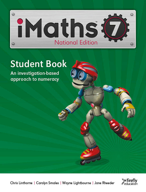 iMaths 7 Student Book National Edition 9781741352290