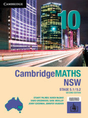 Cambridge Maths Stage 5 NSW 2nd Ed Year 10 5.1/5.2 9781108468428