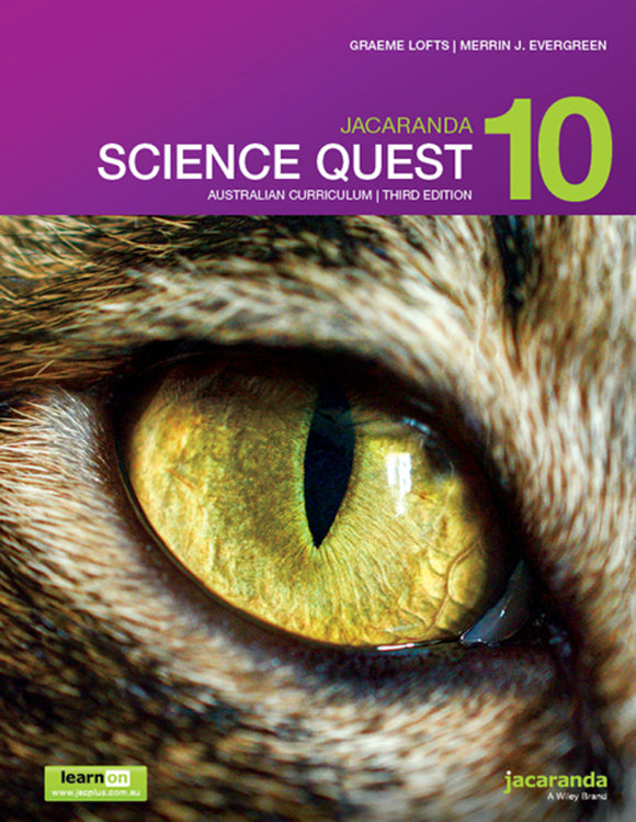 Jacaranda Science Quest 10 for the AC 3rd Ed LearnON & Print 9780730346852