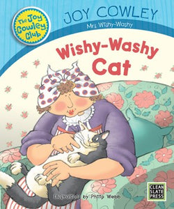 Wishy-Washy Cat (Small Book) 9781927185315