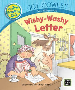 Wishy-Washy Letter (Small Book) 9781927185308