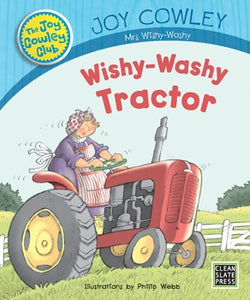 Wishy-Washy Tractor (Big Book) 9781927185797